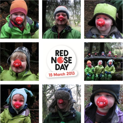 Red Nose Day Mosaic