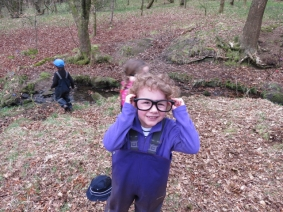 Special glasses to help in hide and seek