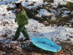 Going sledging